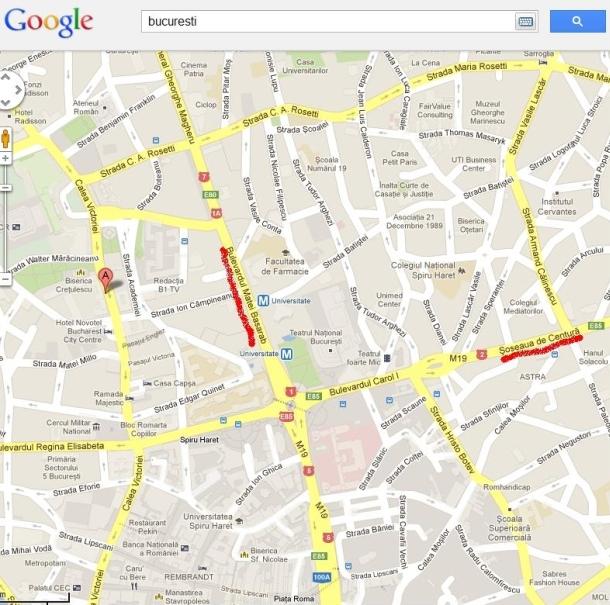 Harta Bucuresti Google Maps Scribepotent S Diary