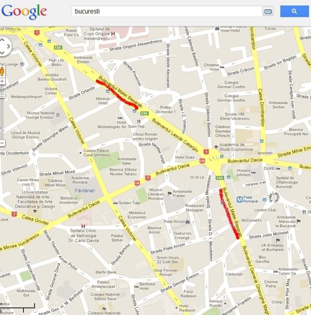 Harta Google Maps Pozawriting S Diary
