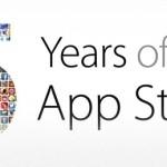 Apple Store ofera aplicatii si jocuri gratuite, cu ocazia implinirii a 5 ani de la lansare