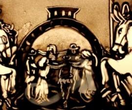 video-istoria-romaniei-a-fost-pictata-in-nisip-de-o-moldoveanca