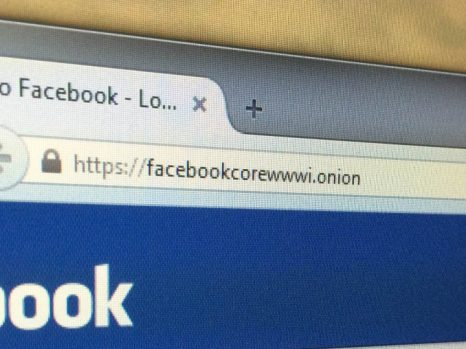 facebook tor browser