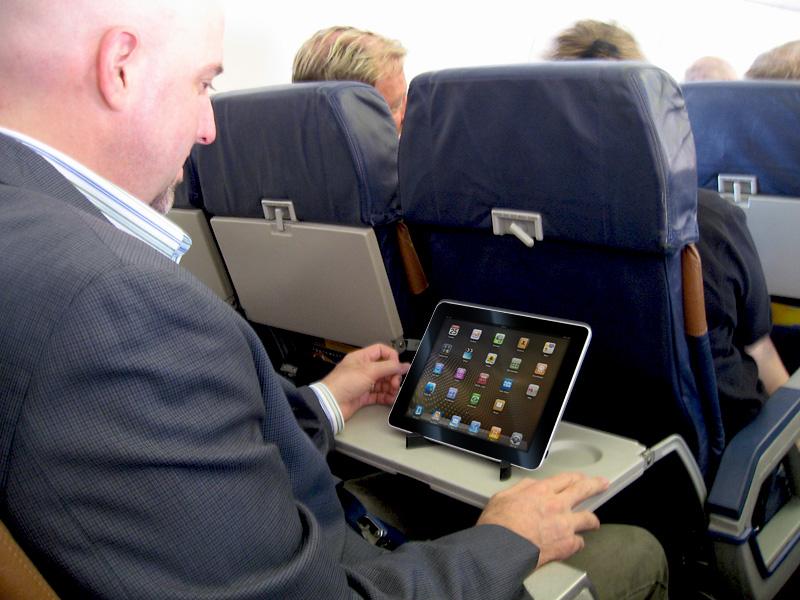 iPad-avión