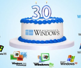 windows 30 ani