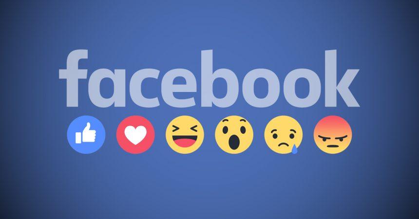 reactii facebook
